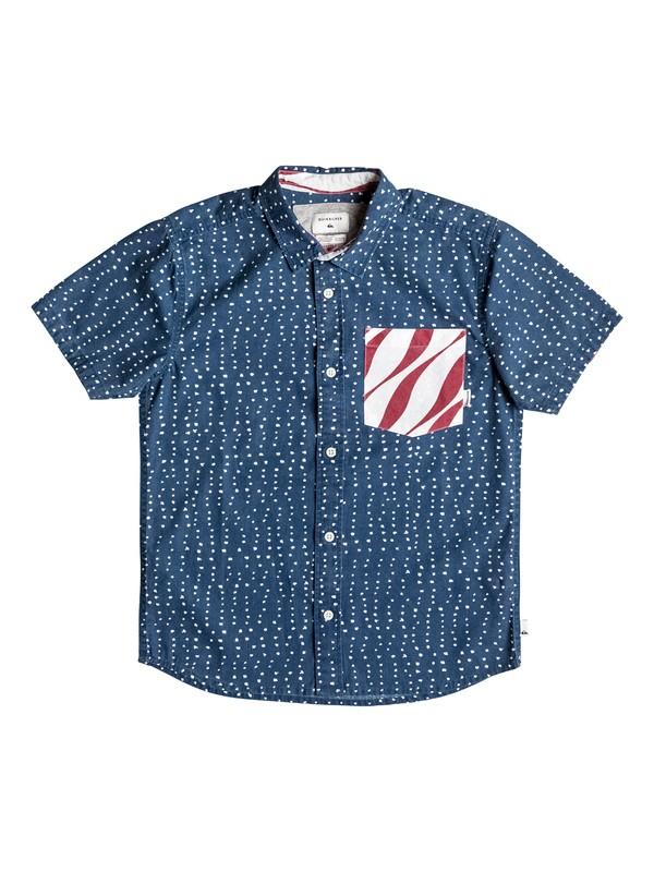 0 New Merica - Short Sleeve Shirt  EQBWT03174 Quiksilver