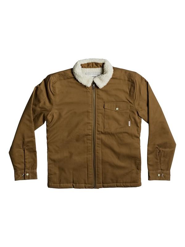 0 Boy's 8-16 Dabein Long Sleeve Shirt  EQBWT03182 Quiksilver