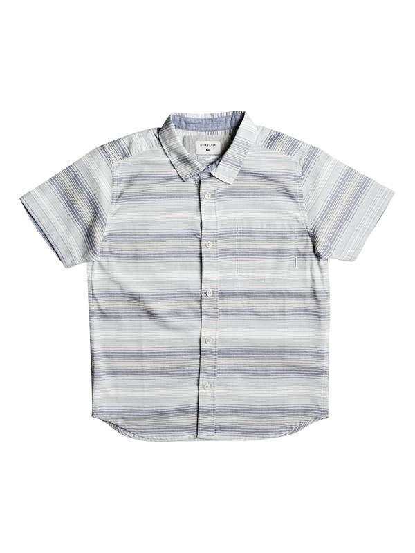 0 Boy's 8-16 Aventail Short Sleeve Shirt Blue EQBWT03185 Quiksilver