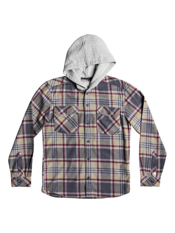 0 Tang - Hooded Long Sleeve Shirt  EQBWT03196 Quiksilver
