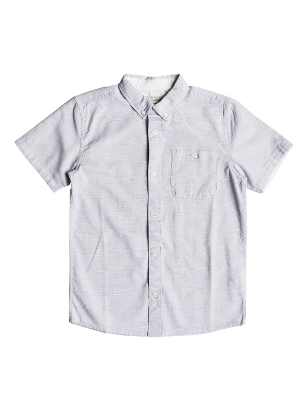 0 Boys 8-16 Waterfalls - Short Sleeve Shirt Blue EQBWT03201 Quiksilver