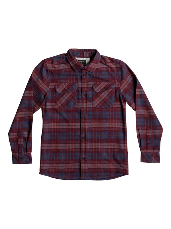 0 Boy's 8-16 Fitzspeere Long Sleeve Shirt  EQBWT03207 Quiksilver