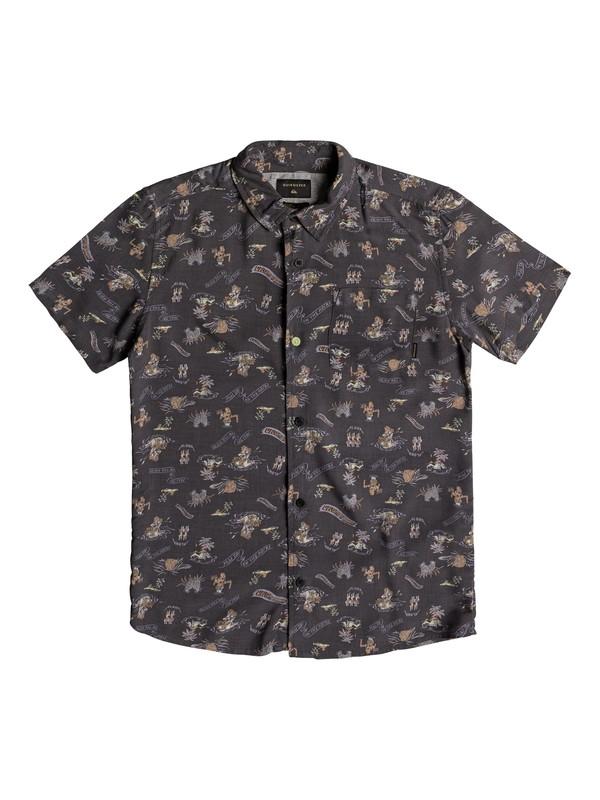 0 Aloha - Chemise à manches courtes Noir EQBWT03211 Quiksilver