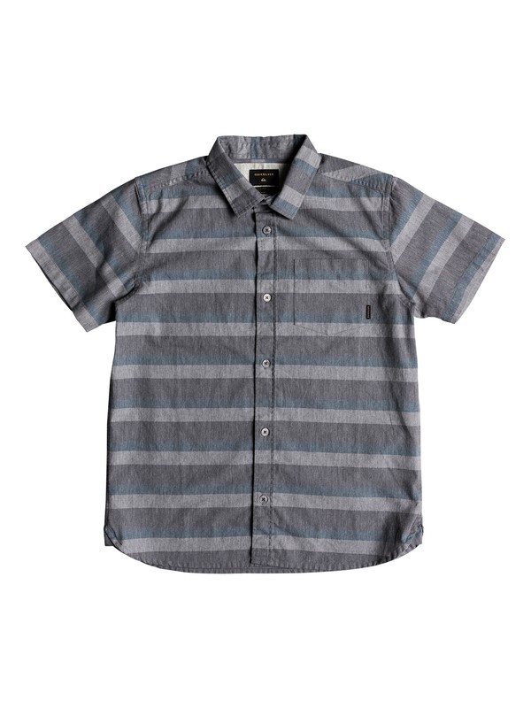 0 Boy's 8-16 Tama Kai Short Sleeve Shirt Blue EQBWT03218 Quiksilver