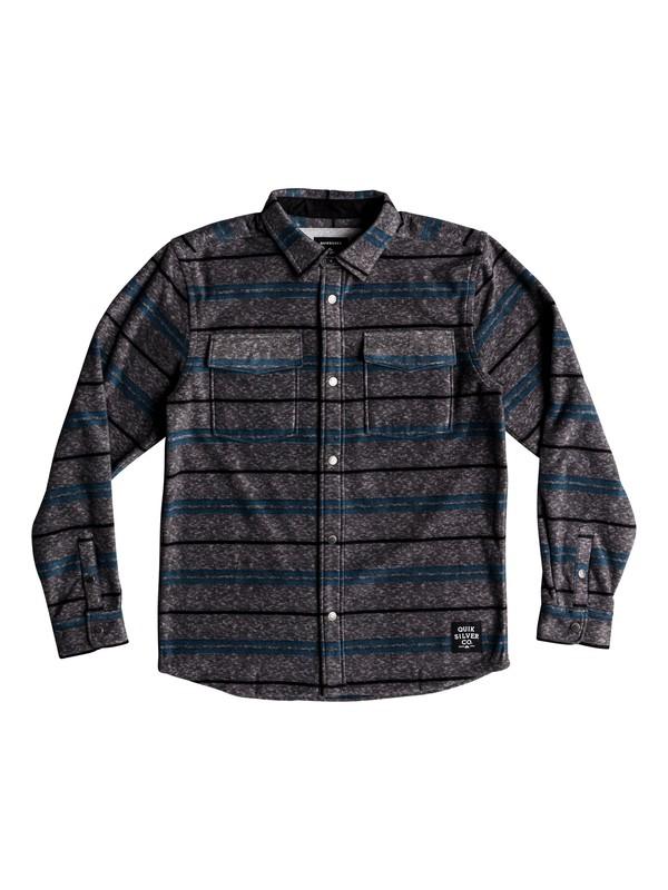 0 Boy's 8-16 Surf Days Long Sleeve Shirt Black EQBWT03229 Quiksilver