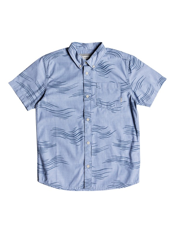 0 VALLEY GROOVE PRINT SS YOUTH  EQBWT03235 Quiksilver