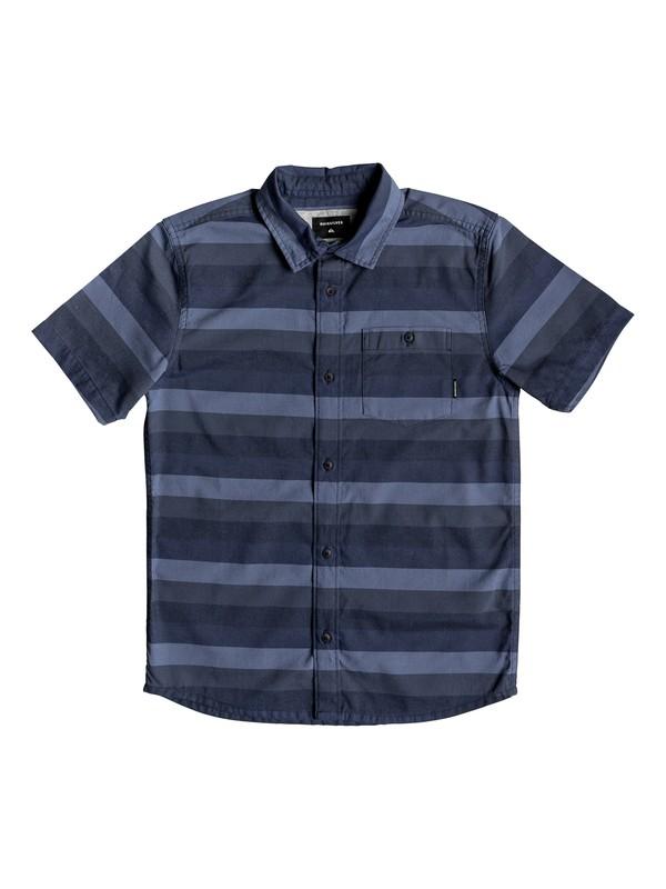 0 Boy's 8-16 Hotel Diva Short Sleeve Shirt Blue EQBWT03240 Quiksilver