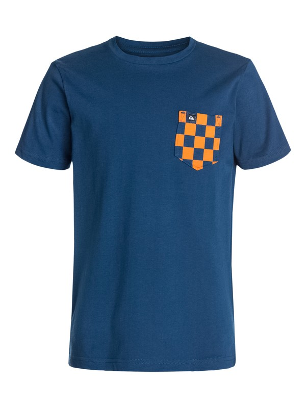 0 Ss Bright Pocket Tee Youth E2  EQBZT03053 Quiksilver