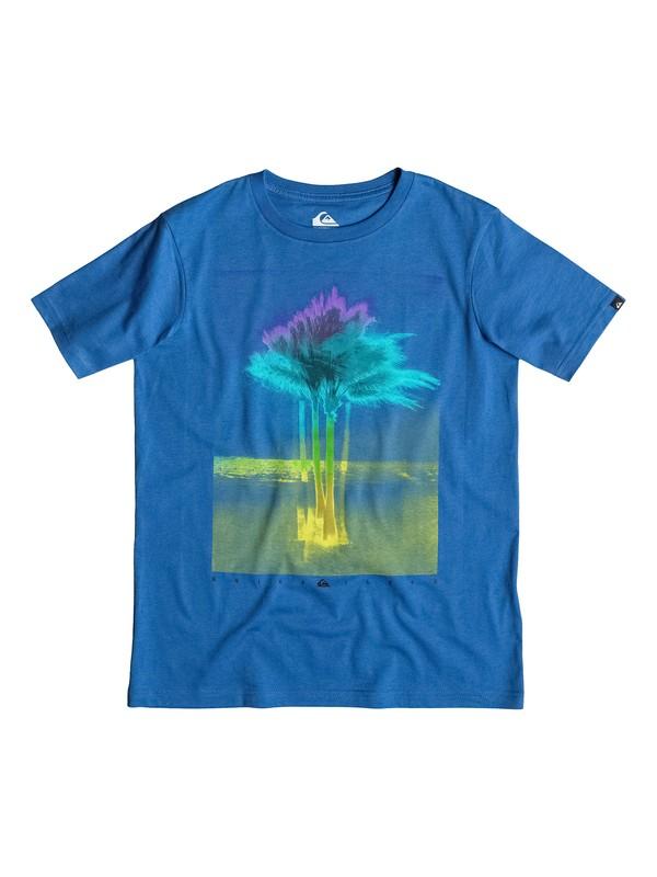 0 Classic Xray Palms - T-shirt  EQBZT03139 Quiksilver