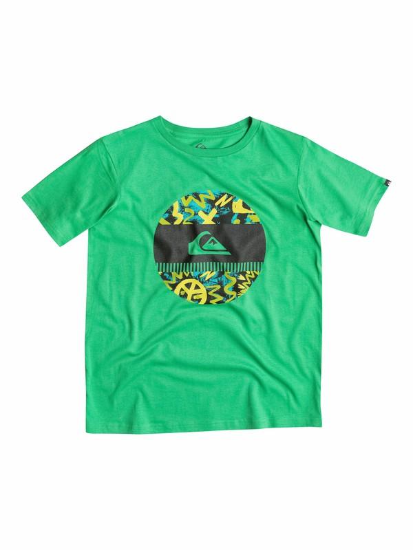 0 Classic Disco Biscuit - T-shirt  EQBZT03140 Quiksilver