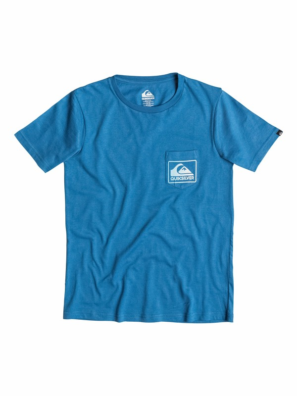 0 Everyday Pocket - T-shirt pocket tee  EQBZT03155 Quiksilver