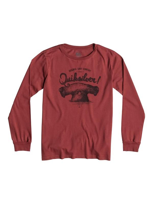 0 Organic Hammerhead - T-shirt manches longues  EQBZT03160 Quiksilver