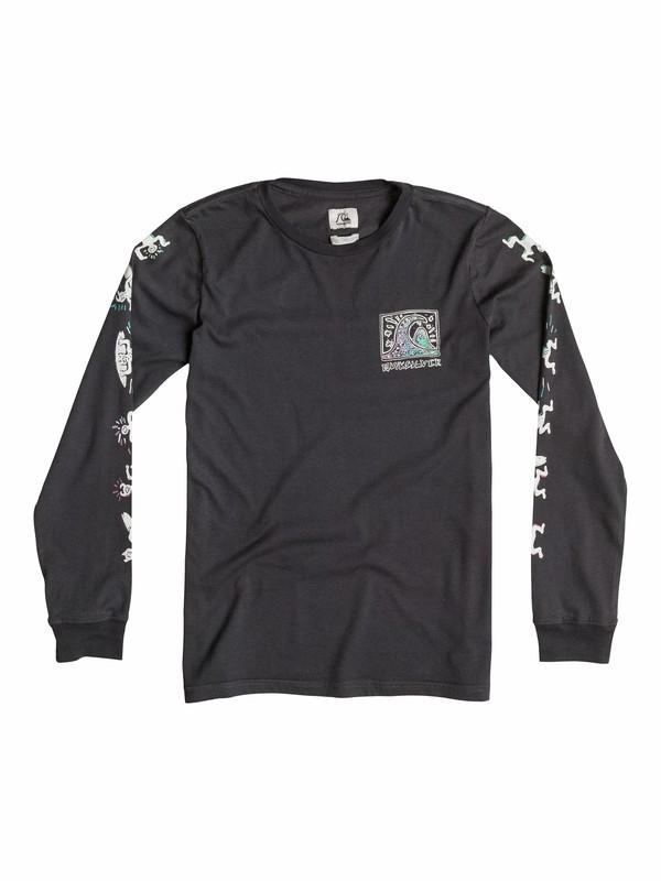 0 Surf Trip - T-shirt manches longues  EQBZT03173 Quiksilver