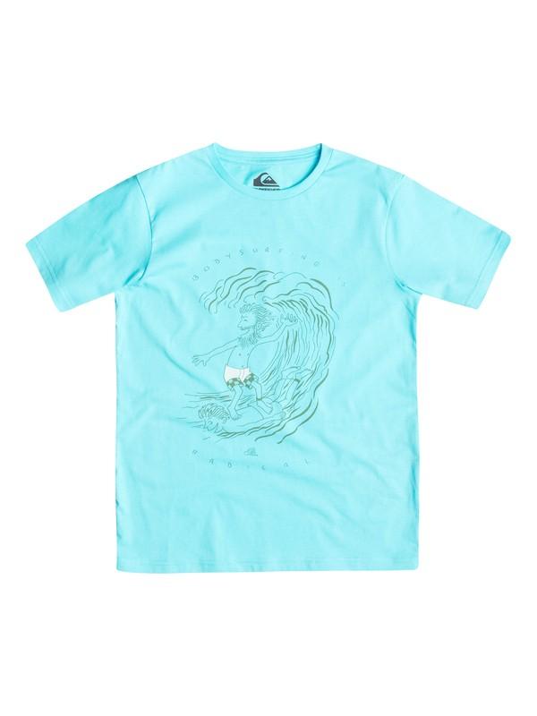 0 Classic Radical Surf - T-shirt  EQBZT03241 Quiksilver