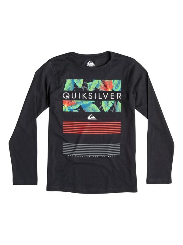 0 Classic Line Up - T-shirt manches longues  EQBZT03250 Quiksilver
