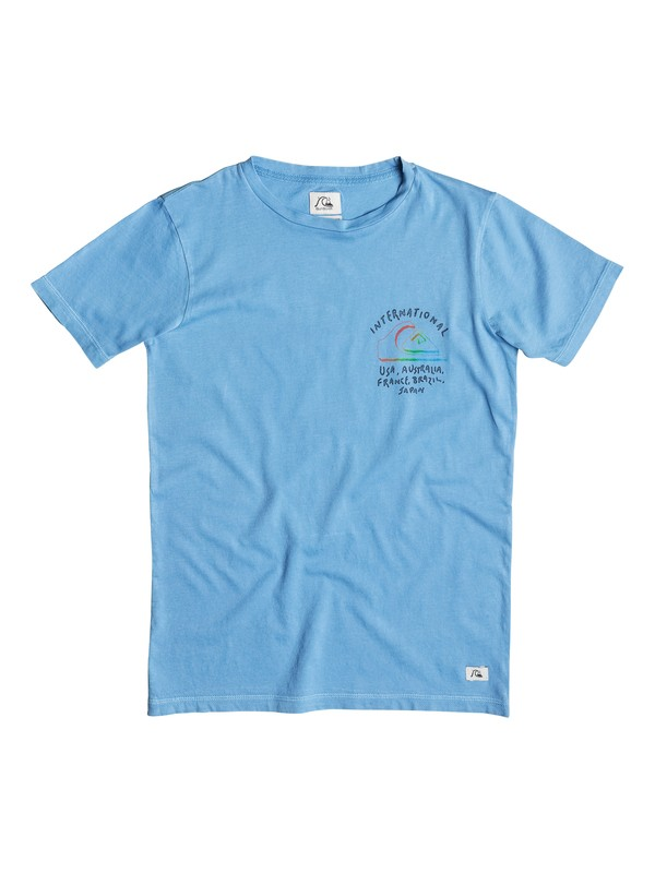 0 Garment Dye Wolrd Force - T-shirt  EQBZT03254 Quiksilver