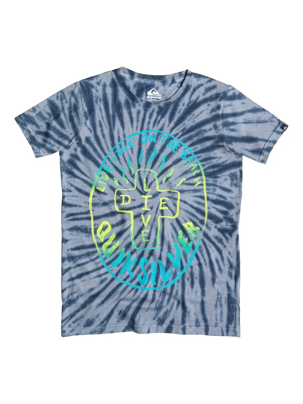0 Live And Die - T-shirt  EQBZT03263 Quiksilver