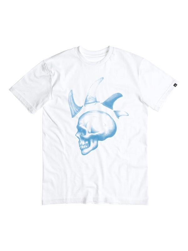 0 Classic Iron Fins - T-shirt  EQBZT03266 Quiksilver