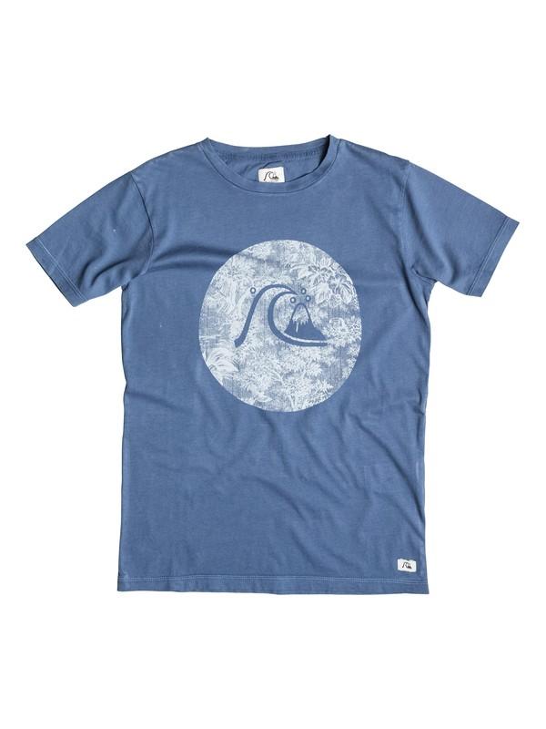 0 Garment Dye Sunset - T-shirt  EQBZT03267 Quiksilver