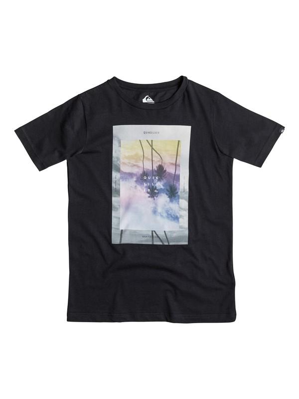 0 Classic Dark Palms - T-shirt  EQBZT03299 Quiksilver