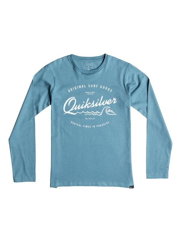 0 Classic West Pier - Tee-Shirt à manches longues  EQBZT03359 Quiksilver