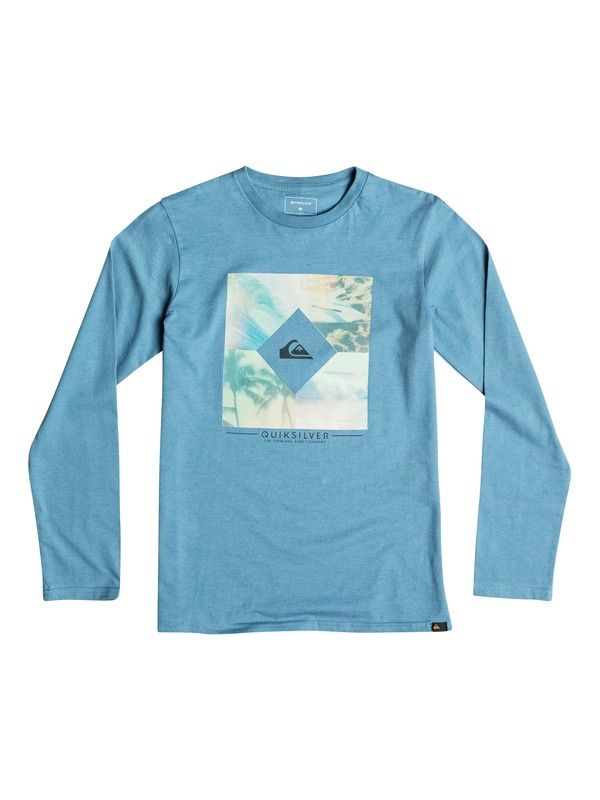 0 Classic Diamond Day - Tee-Shirt à manches longues  EQBZT03364 Quiksilver