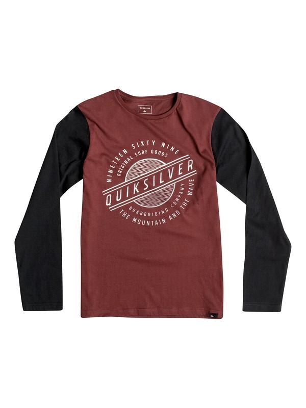 0 Colorblock Full Moon - Tee-Shirt à manches longues  EQBZT03365 Quiksilver