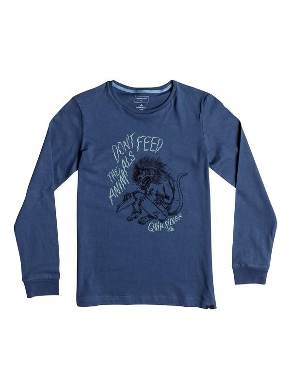 0 Carbon Baboon Trouble - Tee-Shirt à manches longues  EQBZT03370 Quiksilver