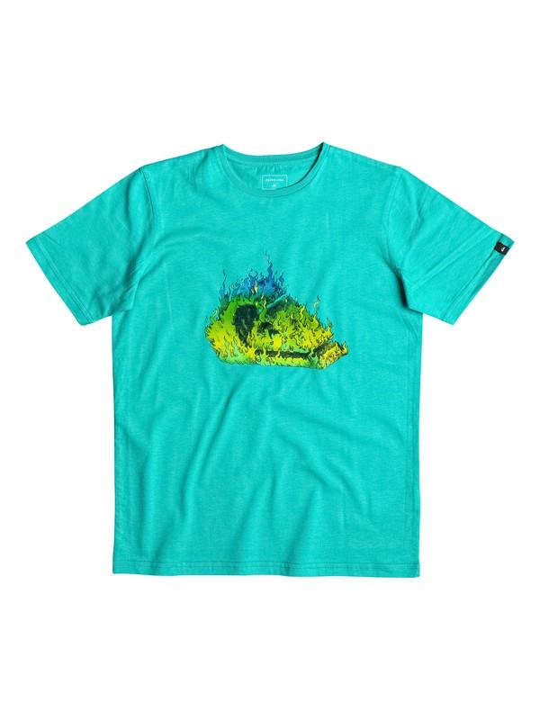 0 Classic In Fire - Tee-Shirt  EQBZT03462 Quiksilver
