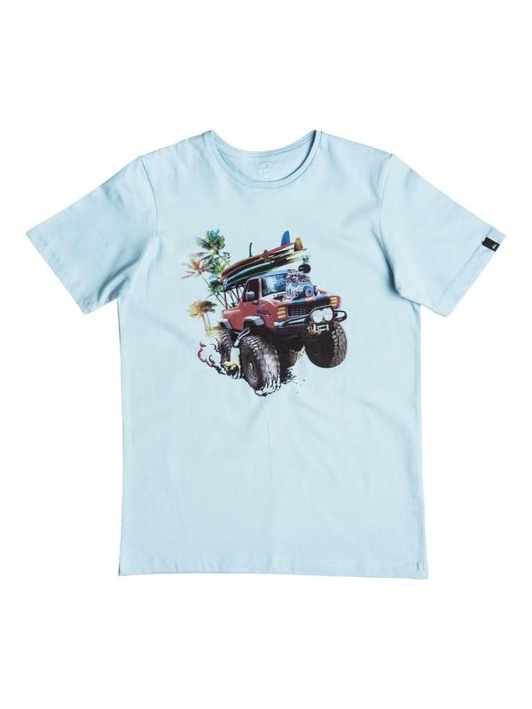 0 Classic Monster Garde - T-Shirt Blau EQBZT03465 Quiksilver