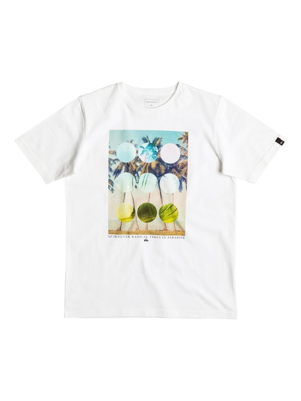 0 Classic Lost Paradise - T-Shirt Weiss EQBZT03470 Quiksilver