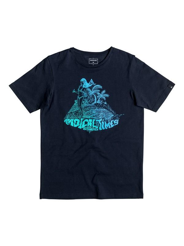 0 Classic Crocoride - T-Shirt  EQBZT03476 Quiksilver