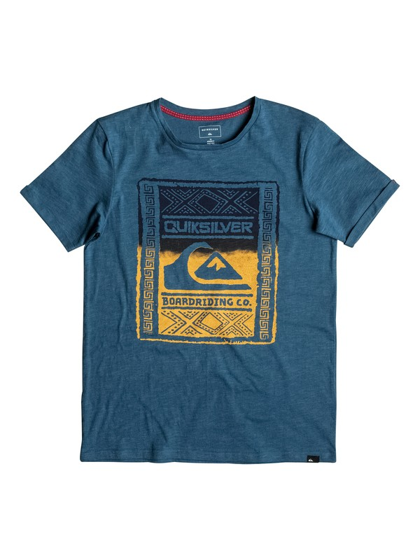 0 Slub Walled Up - Tee-Shirt  EQBZT03481 Quiksilver