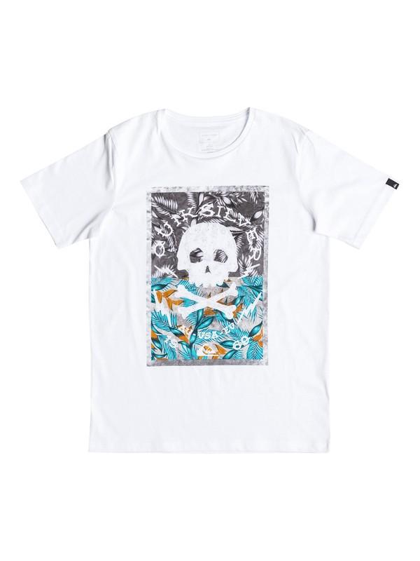 0 Classic Danger Beach - T-Shirt Weiss EQBZT03532 Quiksilver
