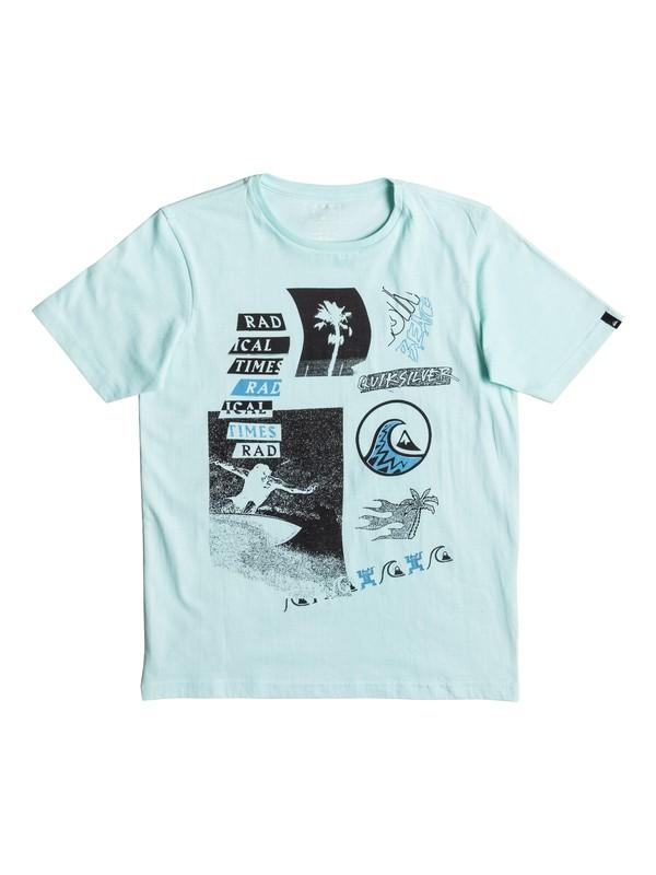 0 Classic Venice Bliss - T Shirt  EQBZT03561 Quiksilver