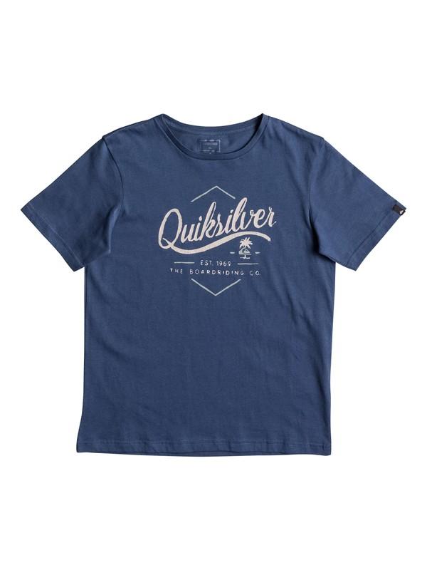 0 Classic Sea Tales - T Shirt pour Garçon 8-16 ans  EQBZT03566 Quiksilver