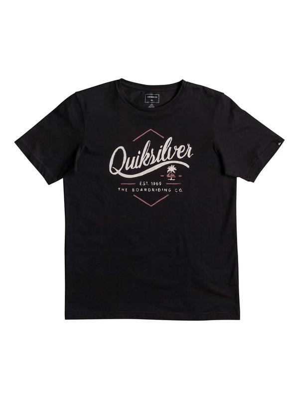 0 Classic Sea Tales - T-Shirt Black EQBZT03566 Quiksilver