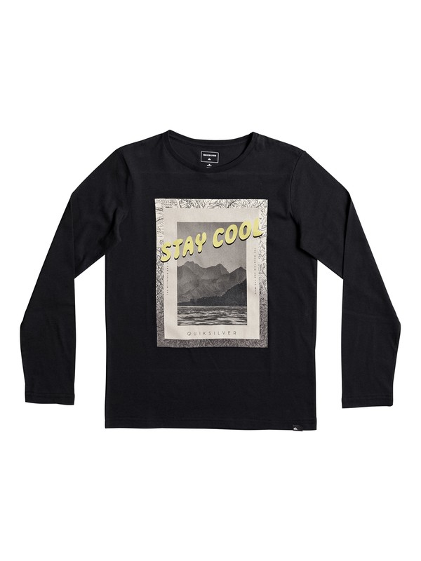 0 Classic Stay Cool - Long Sleeve T-Shirt Black EQBZT03568 Quiksilver