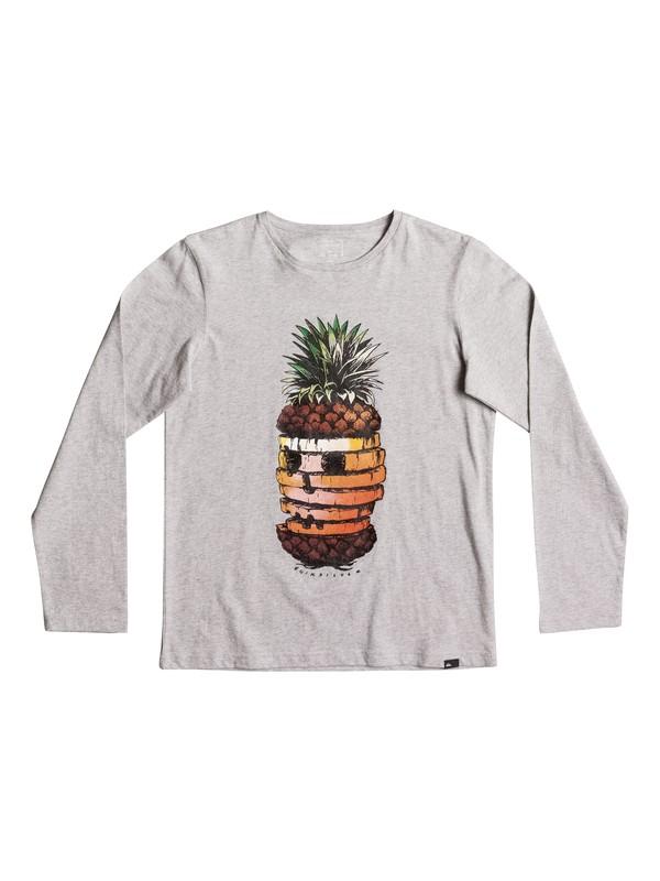 0 Classic Hot Pineapple - Longsleeve für Jungen 8-16 Grau EQBZT03574 Quiksilver