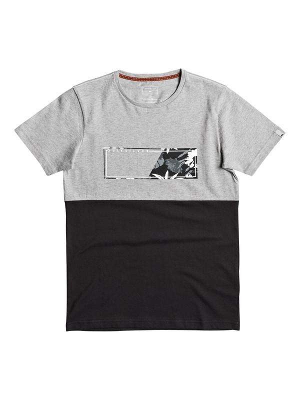0 Blue Box - T Shirt col rond pour Garçon 8-16 ans  EQBZT03578 Quiksilver