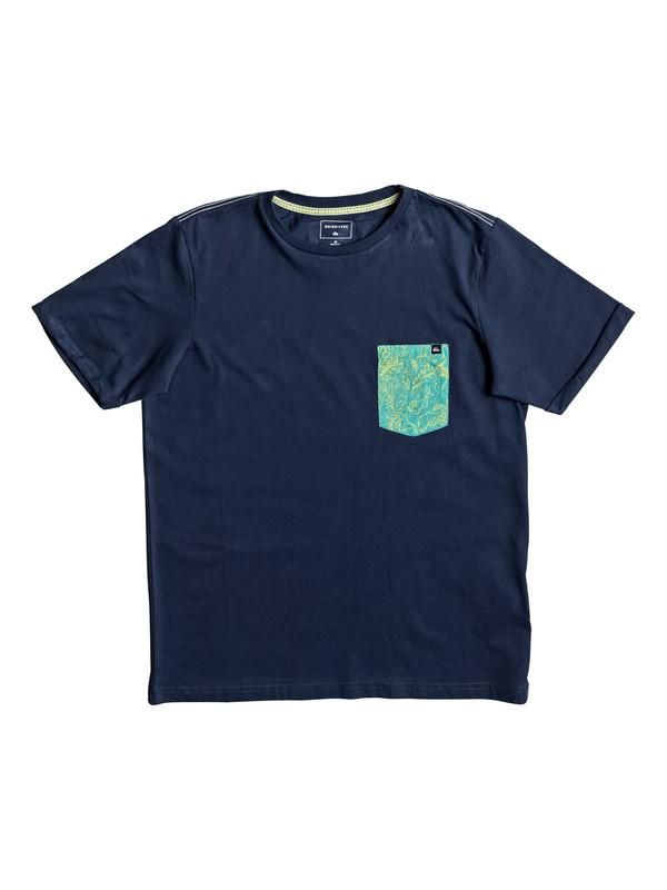 0 Jungle - T Shirt col rond pour Garçon 8-16 ans  EQBZT03582 Quiksilver
