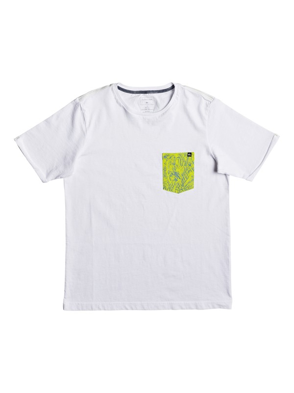 0 Jungle - Camiseta Blanco EQBZT03582 Quiksilver