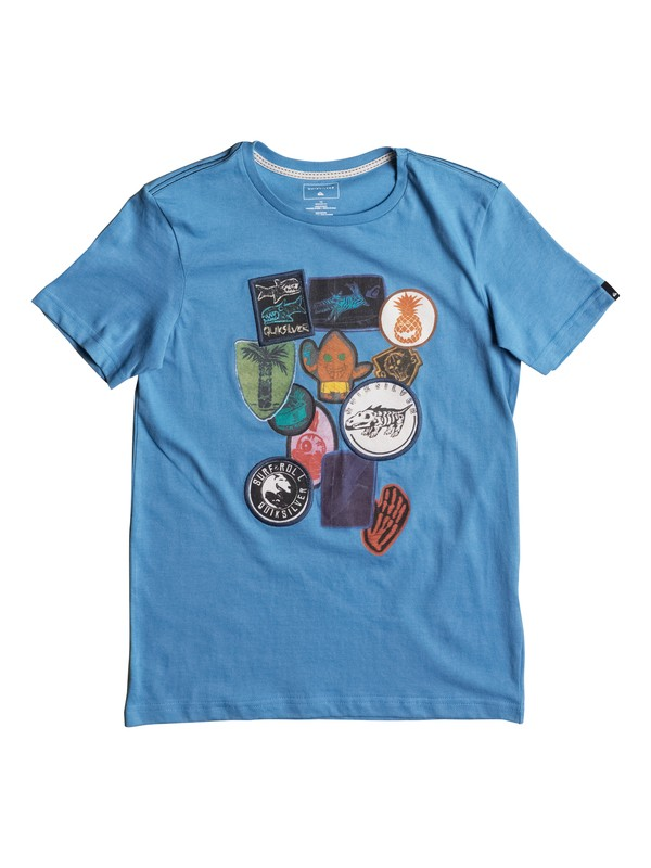 0 Badges - T Shirt  EQBZT03586 Quiksilver