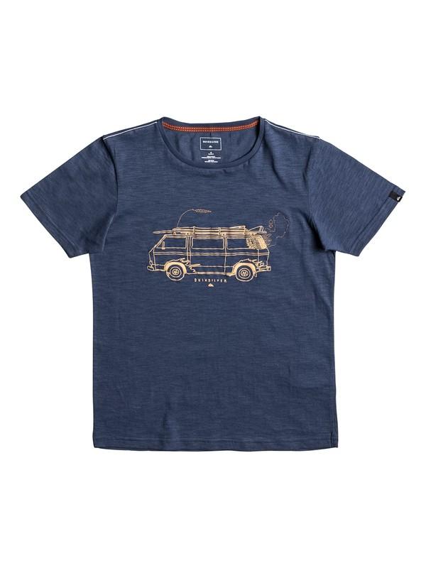 0 Happy Van Slub - T Shirt  EQBZT03587 Quiksilver