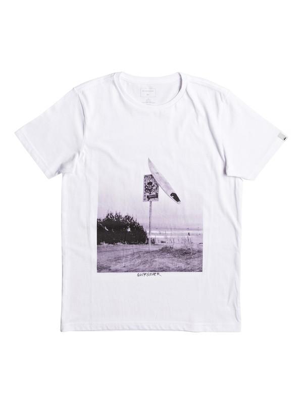 0 Classic East Smashed - Tee-Shirt pour Garçon 8-16 ans  EQBZT03629 Quiksilver