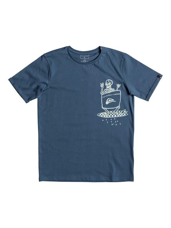 0 Classic Kanu - T-Shirt for Boys 8-16 Blue EQBZT03665 Quiksilver