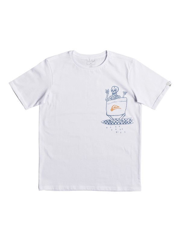 0 Classic Kanu - T-Shirt for Boys 8-16 White EQBZT03665 Quiksilver