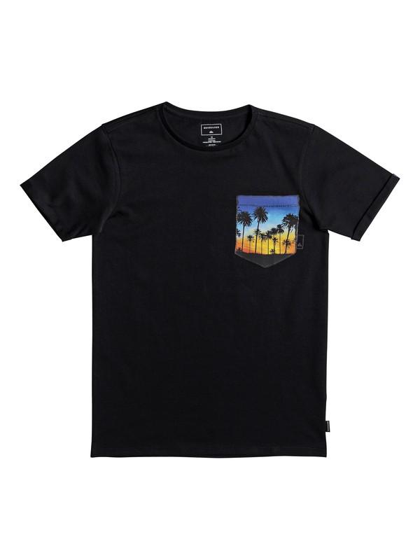 0 Classic Quadro Glide - T-Shirt for Boys 8-16 Black EQBZT03667 Quiksilver