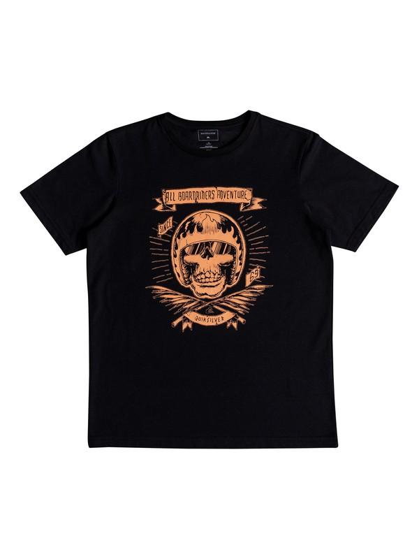 0 Classic Makau Ola - T-Shirt for Boys 8-16 Black EQBZT03671 Quiksilver