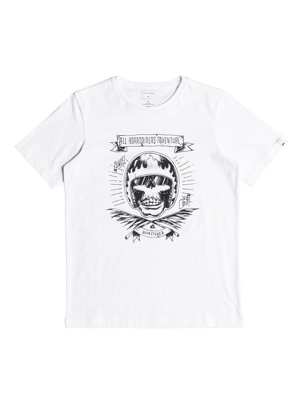 0 Classic Makau Ola - T-Shirt for Boys 8-16 White EQBZT03671 Quiksilver